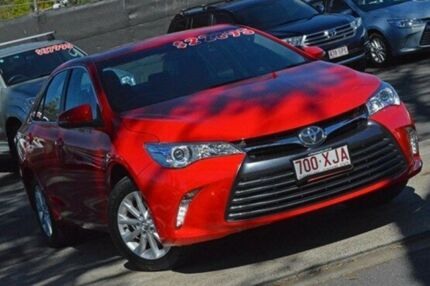 2016 Toyota Camry ASV50R Altise Red 6 Speed Sports Automatic Sedan Taringa Brisbane South West Preview