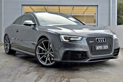 2015 Audi RS5 8T MY15 S tronic quattro Grey 7 Speed Sports Automatic Dual Clutch Coupe