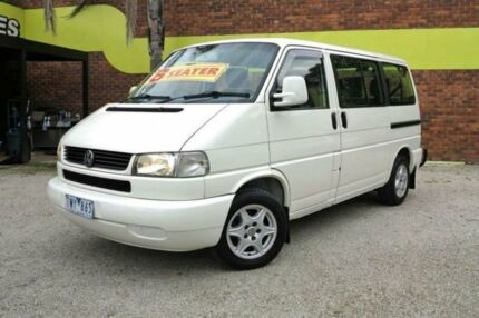 2003 Volkswagen Caravelle T4 GLS White 4 Speed Automatic 4D BUS