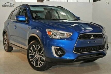 2015 Mitsubishi ASX XB MY15.5 LS 2WD Blue 6 Speed Constant Variable Wagon Invermay Launceston Area Preview