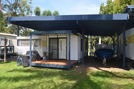 1974 Viscount Supreme Caravan, Full Hard Annex and Tropical Roof