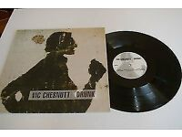 VIC CHESNUTT 'Drunk' - Texas Hotel 1994 UK original + insert - RARE LP, R.E.M. related