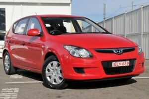 2011 Hyundai i30 FD MY11 SX Red 5 Speed Manual Hatchback Gosford Gosford Area Preview
