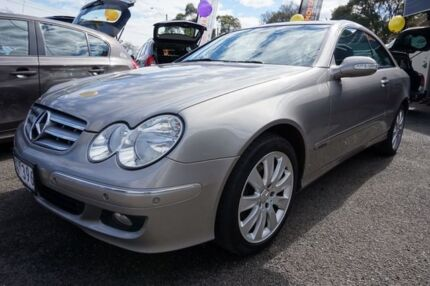 2006 Mercedes-Benz CLK280 C209 MY06 Elegance Cubanite Silver 7 Speed Automatic Coupe