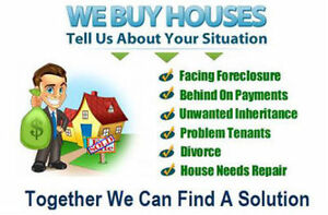 $$$  CASH FOR HOUSES  $$$