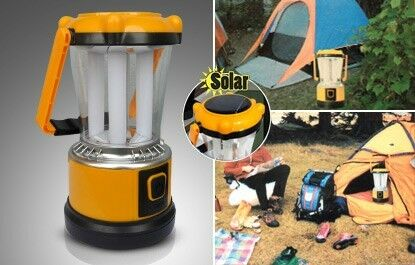 Solar Rechargeable LED Camping Lantern Light Power bank Cellphone Charger and battery bank@R130 each