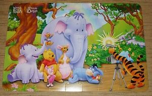 ✪ WINNIE THE POOH AND FRIENDS - Poster Size Puzzle