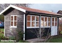 GARDEN OFFICE/SUMMERHOUSE/GARDEN ROOM/STUDIO/BUILDERS OF SUMMERHOUSES