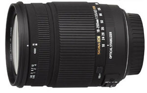 Sigma 18-250mm f/3.5-6.3 Canon Mount Lens