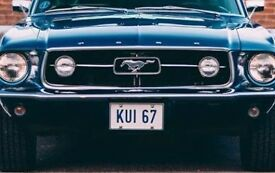 1967 MUSTANG `KUI 67` CHERISHED PERSONALISED NUMBER PLATE **DATELESS** HOT ROD CHEVY