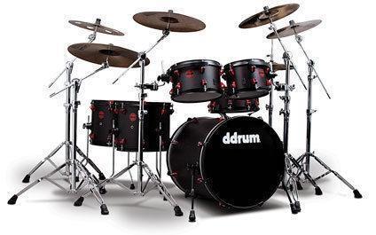 acoustic drum set ebay. Black Bedroom Furniture Sets. Home Design Ideas
