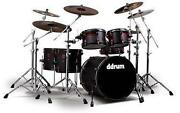 6 Piece Drum Kit
