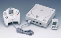 LOOKING TO BUY A SEGA DREAMCAST WITH GAMES !!!