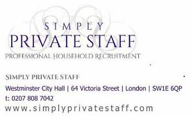 Experienced housekeeper/cook/PA/mothers help for Germany/London to start ASAP - ref 323
