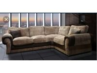 comfortable Couch Brand new Fre footstool