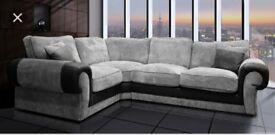 FREE FOOTSTOOL with Ashley corner sofa