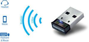 TrendNet Micro Bluetooth USB Adapter - 100 meter range Cambridge Kitchener Area image 1