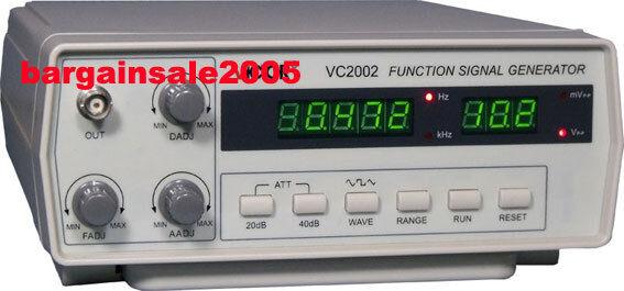 Signal Generator 0.2HZ-2MHZ, 5 Types Signals, HQ New