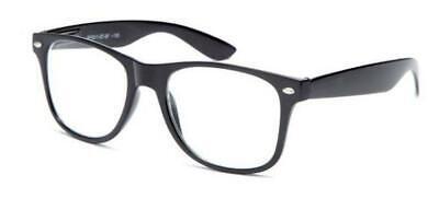 Kinder Nerd Brille Klarglas Geek Fake für Kostüm Kinder Alter 3-10 Rot Blu