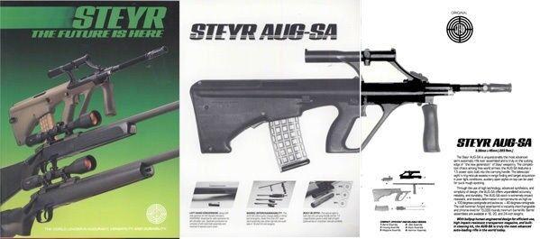 Steyr 1985 Gun Catalog
