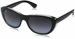 4e63e4208da13 Ray-Ban Sunglasses 4227 60528g Top Matt Black on Transparent Grey ...