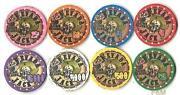 Pokerchips Keramik