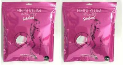 2 Pack - Heidi Klum Intimates Solutions The Booty Shaper Padded Butt L/XL