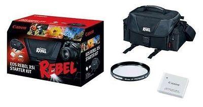 Canon EOS Rebel Starter Kit For Canon Rebel T1i /XSi /XS includes camera bag Eos Rebel T1i Kit