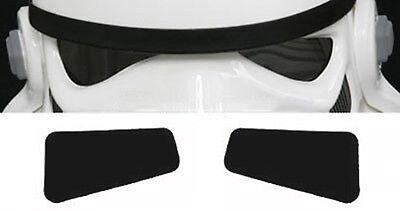 weich Film Gläser in Farbe grau für Star Wars Stormtrooper Kostüm Helme