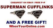 Superhero Cufflinks
