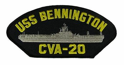 USS BENNINGTON CVA-20 PATCH USN NAVY SHIP ESSEX CLASS AIRCRAFT CARRIER APOLLO 4