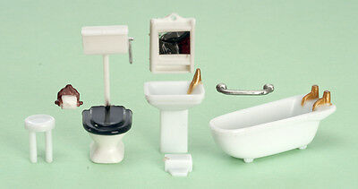 Miniature Dollhouse FAIRY GARDEN Furniture ~ ¼
