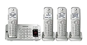 Brand New! Panasonic KX-TGE474S Link2Cell Phone Set
