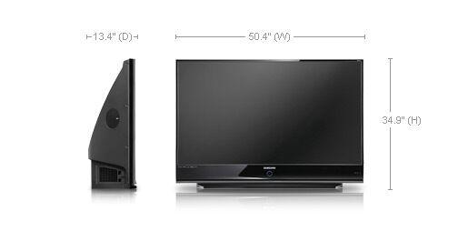 samsung rear projection tv ebay. Black Bedroom Furniture Sets. Home Design Ideas