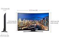 "Samsung UHD 4K Curved 55"" Smart TV - Wifi LED"
