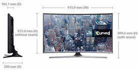 samsung 40in curved tv