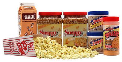 Basic Home Theater Popcorn Machine Supplies Kit