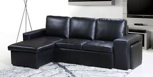 ASPEN BONDED LEATHER SOFABED ONLY $1199 TAX IN & FREE LOCAL DEL