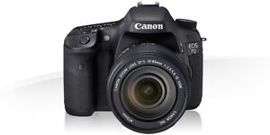 CANON 7D package - with lenses and external flash