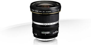 Canon EF-S 10-22 mm F3,5-4,5