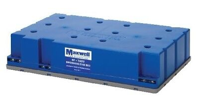 Maxwell Technologies Capacitor Bank 6 Farad 160Vdc Bmod0006 E160 B02 6F 160V New
