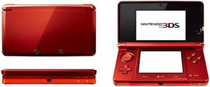 Nintendo 3DS Game System - Flame Red