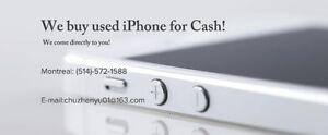 Buying Iphones  INSTANT CASH -Top Dollar-