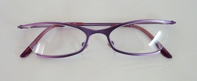 48-17-140 Vintino Italy Partial Rim Metal Frame  4 Colors Retail Value $95 lQQI
