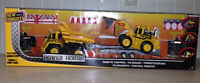 REMOTE CONTROL LOADER AND DUMP TRUCK - NEW