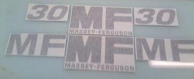 Massey Ferguson 30 Hood Decals