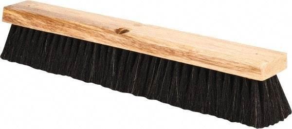 """PRO-SOURCE 18"""" General Purpose Horsehair Push Broom"""
