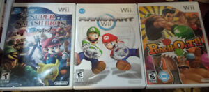 Wii games and Wii Motes & Wii Classic Controller Pro for sale Edmonton Edmonton Area image 1