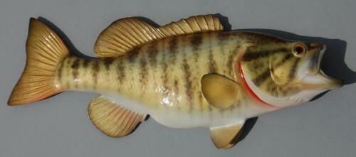 SMALLMOUTH BASS - Miniature Fish Wall Sculpture