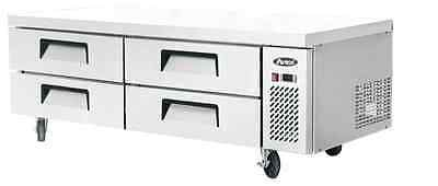 Atosa Commercial 72 4 Drawer Chef Base Refrigerator Cooler Mgf8453